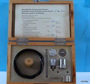 Accelerometer piezotronics Kd37 Vibration Calibration Kit Nos Mmf Germany