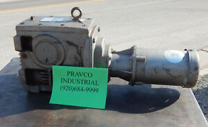 Baldor Vm3539 3phase Motor 1 2 5 hp With Nord Gear 33100 56c 56c Gearbox