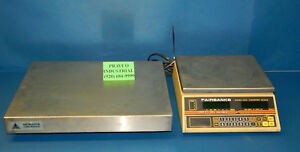 Fairbanks Series 9500 Counting Scale With Metrodyne Ss 100 Scale