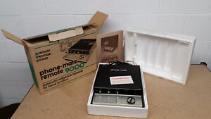 Vintage Phone Mate 9000x2 Answering Machine