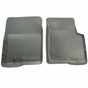 Husky Classic Style Front Floor Mats Gry For Ford Bronco f 150 f 250 f 350 80 97