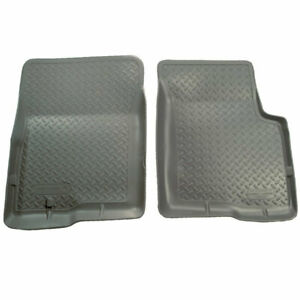 Husky Classic Style Front Floor Liners Grey For Toyota Tacoma 1995 2004