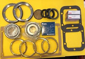 Bk261ws Bearing Kit Fits Dodge Getrag G360 5 Speed With Synchro Rings 1988 ons
