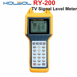 Kolsol Ry200 Ry 200 Catv Cable Digital Tv Signal Level Meter Db Best Tester