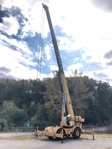 2000 Grove Crane Rt760 Cummins 166ft Boom jib 500 Hours 1 Owner Machine