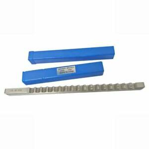 1 2 D Push type Keyway Broach Inch Sized Hss Cutting Tool For Cnc Machine