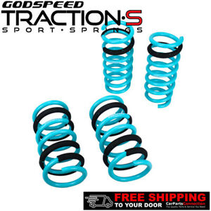 Godspeed Project Traction S Lowering Springs For Nissan 350z Z33 2003 2008
