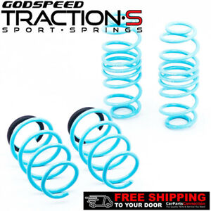 Godspeed Project Traction S Lowering Springs For Volkswagen Golf Gti 2009 14 Mk6