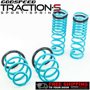 Godspeed Project Traction S Lowering Springs For Honda Accord 2013 Up Ct Cr