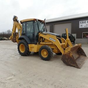2001 John Deere 310sg Backhoe Cab 4 In 1 Bucket Extenda Hoe Low Hours One Owner