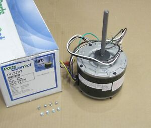 Air Conditioner Condenser Fan Motor 1 6 Hp 230 Volts 1075 Rpm Pc 3727