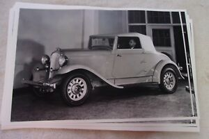 1932 Plymouth Roadster 11 X 17 Photo Picture 2