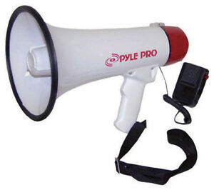 Pyle 40w Mini Megaphone With Siren
