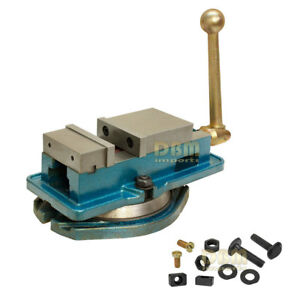 3 Accu Lock Vise Precision Milling Drilling Machine Bench Clamp Clamping Vice