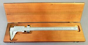 Starrett No 123 E m Master Caliper 350mm In Box