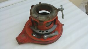 Ridgid 65 r Ratcheting And Adjustible Pipe Threader 1 2 Inch
