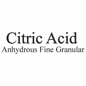 Citric Acid 50 Pounds Soluble Powder Water Lines Swine