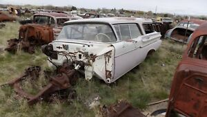 1957 Mercury Station Wagon Door Hinge Bolt Dry Desert Parts Car 1958