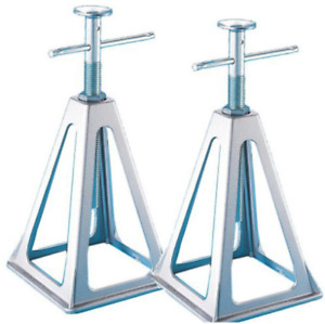 Trailer Jack Stand Pair Set Rv Stands Travel Heavy Duty Adjustable Combo Kit