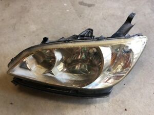 2004 2005 Honda Civic Left Headlight Oem