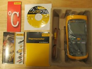 Fluke 51 52 Ii Thermocoupler Thermometer New In The Box