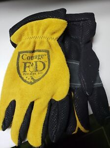 Firefighter Gloves Firedex Elk Skin Leather Size Xxl