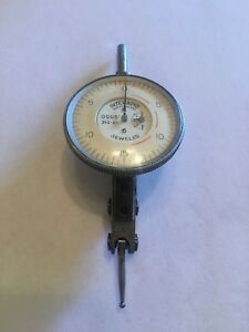 Interapid Model 310 b1 0 0005 Dial Test Indicator Switzerland Made Jeweled