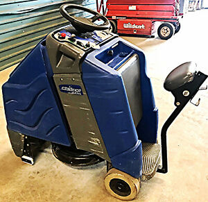 Tennant Windsor Chariot Igloss 20 Burnisher Ride On Auto Scrubber Watch Video