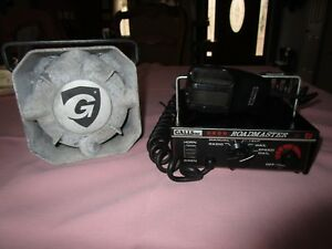 Galls Model Xl200 Roadmaster Siren W speaker galls Sk145 100 Watt