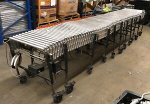 Flexible Powered Roller Conveyor Available