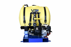 Vsi 110 Gallon Jet Agitated Hydroseeder