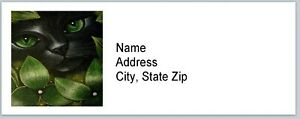 Personalized Address Labels Cat Art Buy 3 Get 1 Free bx 581