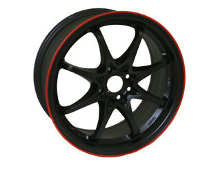 Spun Wheels Limited Ta1 Black 16 7 4x100 114 3