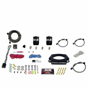 Nitrous Express 20933 00 Ls 102mm Plate System 50 400hp Without Bottle