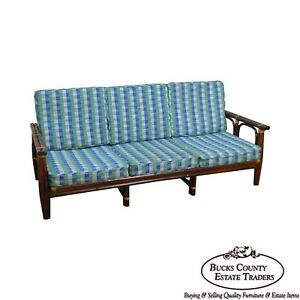 Ficks Reed Vintage Rattan Bamboo Frame Sofa A