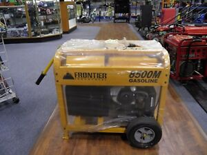 Frontier 8500m Industrial Generator brand New Local Pick Up Only