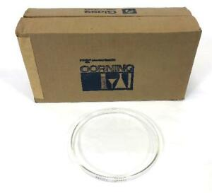 9 Corning Pyrex Laboratory Glassware 3160 Petri Culture Dish Cover 150x15mm
