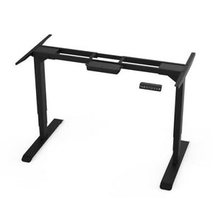 Aimezo Dual Motor Electric Stand Up Desk Frame 50 8 h Height Adjustable Desk Us