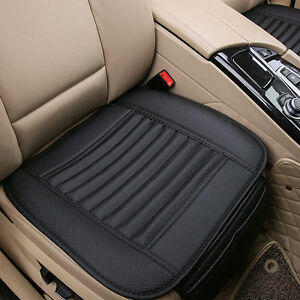 1pcs Pu Leather Auto Seat Cover Driver Car Seat Cushion Covers For Bmw Gla Ford