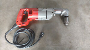 Milwaukee 1001 1 1 2 Heavy Duty Electric Corded Right Angle Drill