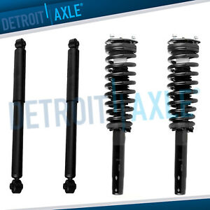 Front Strut Rear Shocks Kit For 2010 2011 2012 Ford Fusion Mercury Milan 2 5l