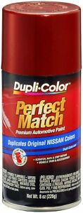 Dupli color Bns0572 Burgundy Berry Metallic For Nissan Touch up Paint 8 Oz Aero