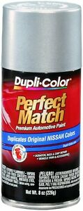 Dupli color Bns0565 Silver Frost Metallic For Nissan Touch up Paint 8 Oz Aerosol