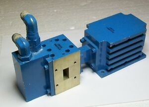 X Band 10 Ghz Microwave High Power Isolator Circulator Load Termination