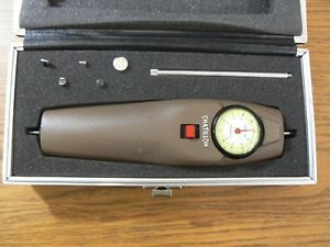 Chatillon Dpp 10 Push Pull Force Gauge 10 X 10 Lbs With Case And Attachments