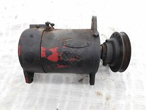 Ih Farmall M Used 6 Volt Generator With Correct Pulley Antique Tractor