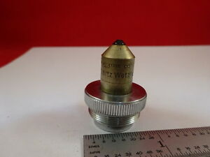 Antique Ernst Leitz Germany Objective 6 3 Mm Optics Microscope Part