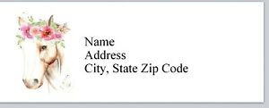 Personalized Address Labels Western Horse Buy 3 Get 1 Free bx 602