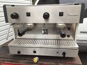 Faema 2 Group Espresso Cappuccino Machine 220v