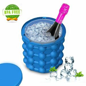 Silicone Ice Cube Trays Molds Ice Bucket Space Saving Ice Genies Ice Ball Maker